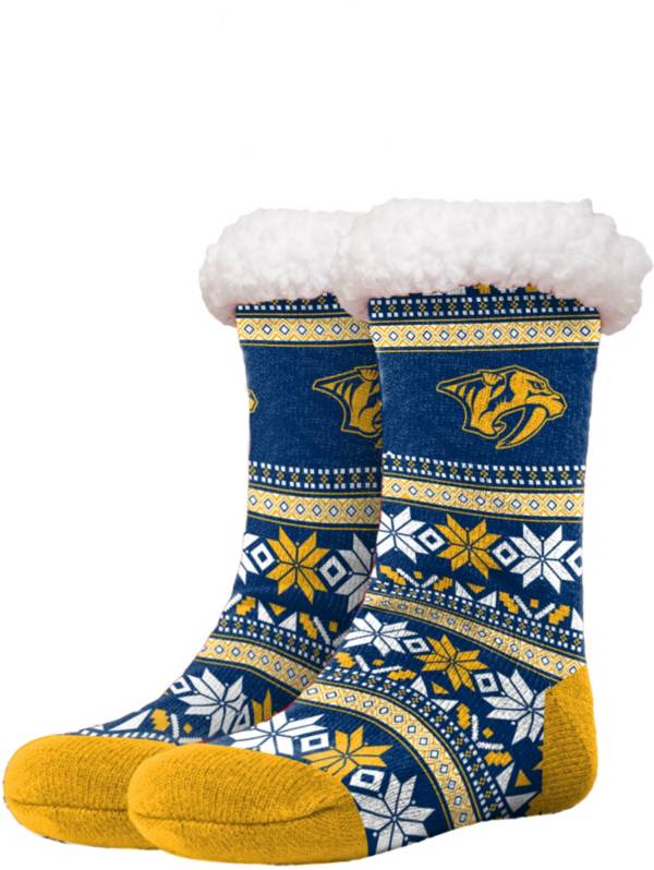 FOCO Nashville Predators Footy Slippers product image