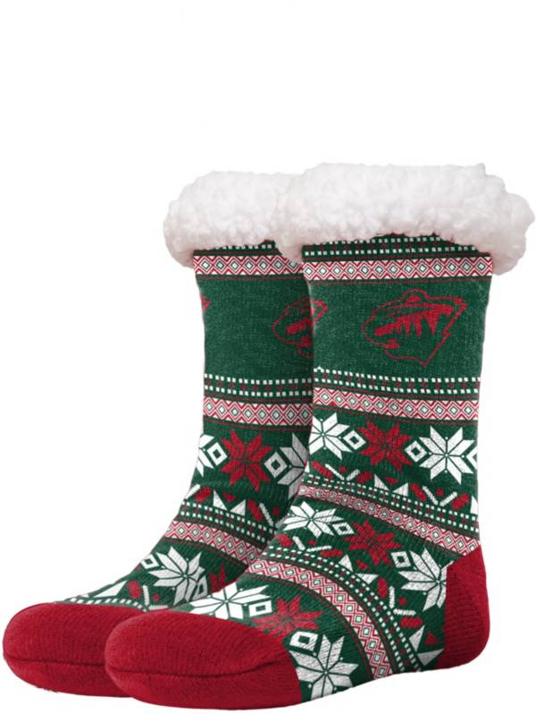 FOCO Minnesota Wild Footy Slippers product image
