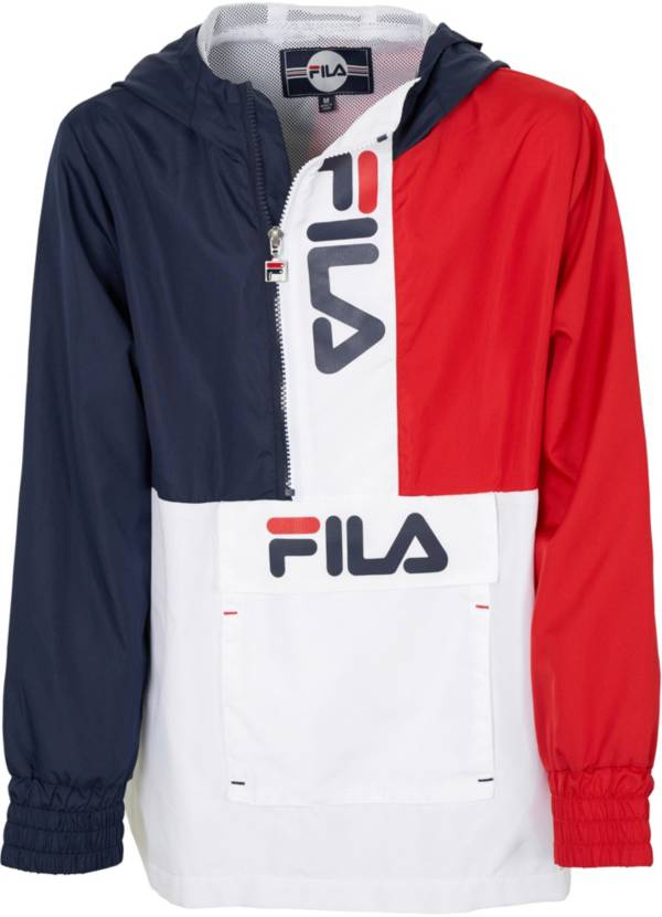 FILA Boy's Half-Zip Vintage Windbreaker product image