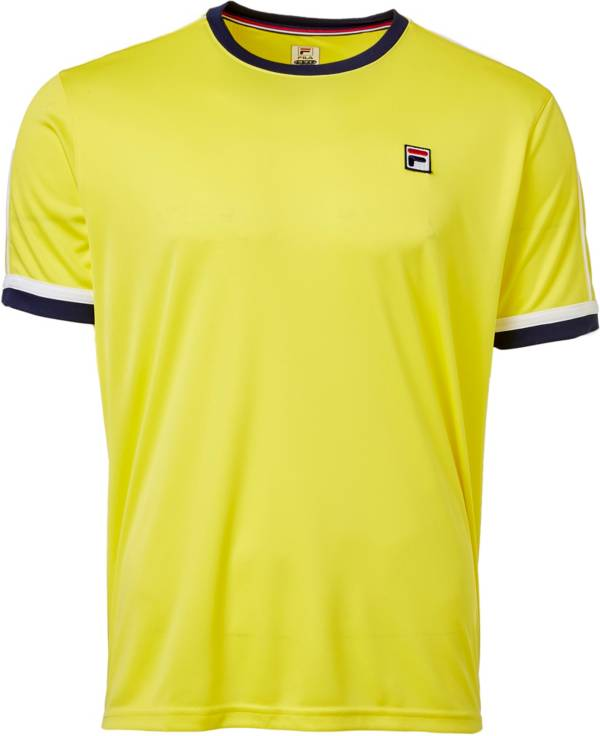 FILA Men's Heritage Piped Crew Tennis T-Shirt product image
