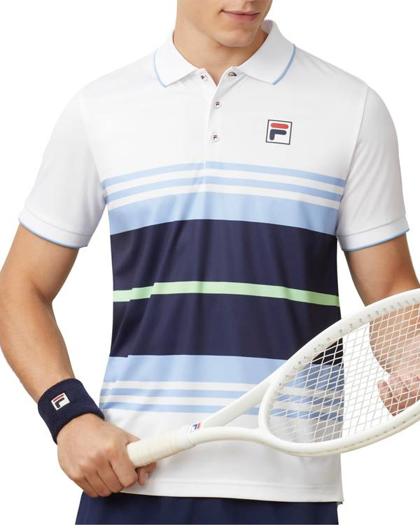 Fila Men's Legend Striped Tennis Polo product image