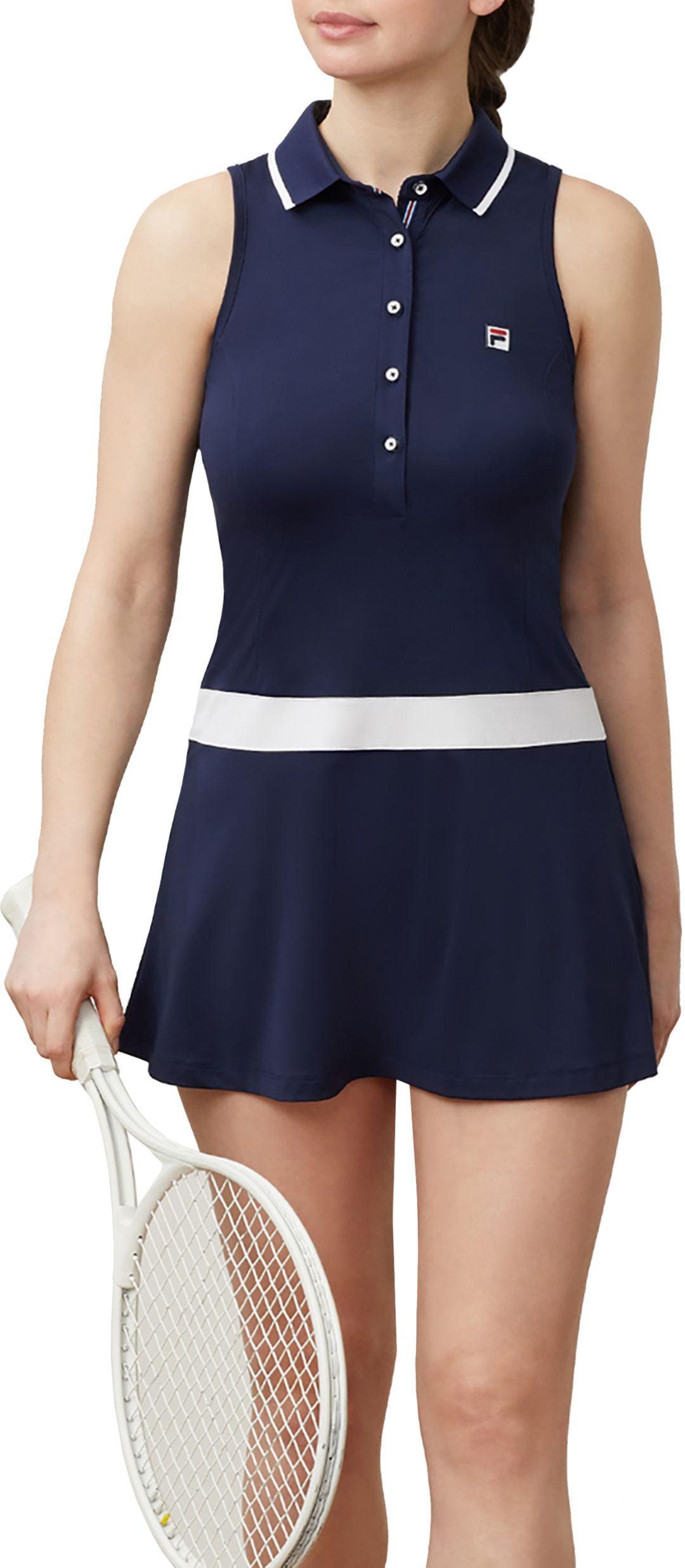 Fila Women's Heritage Tennis Polo Dress