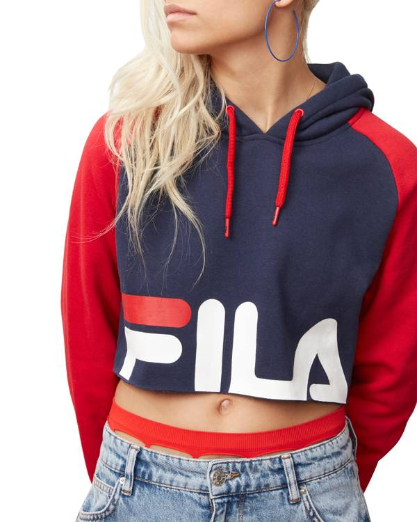FILA Women's Luciana Cropped Hoodie product image