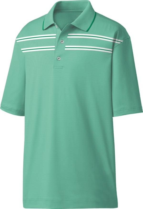 FootJoy Men's Space Dye Double Chest Stripe Golf Polo product image