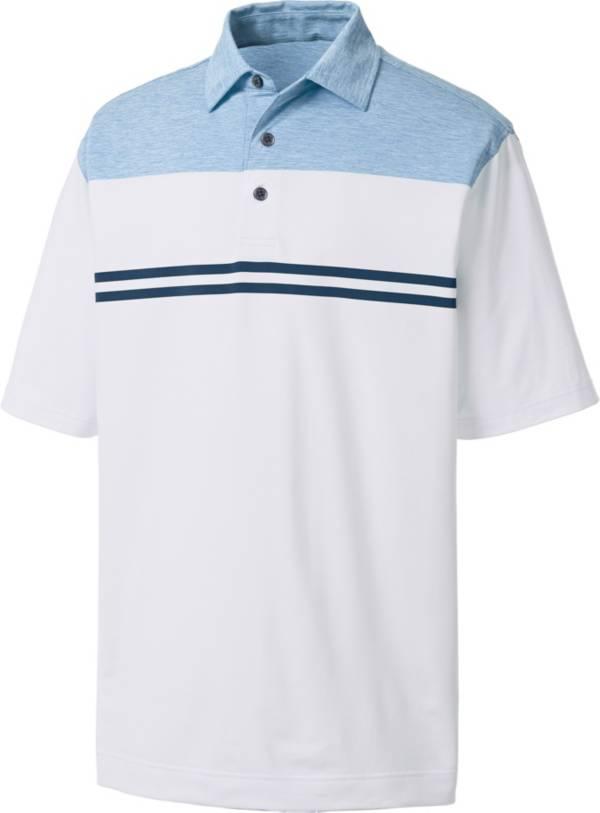 FootJoy Men's Heather Colorblock Lisle Golf Polo product image
