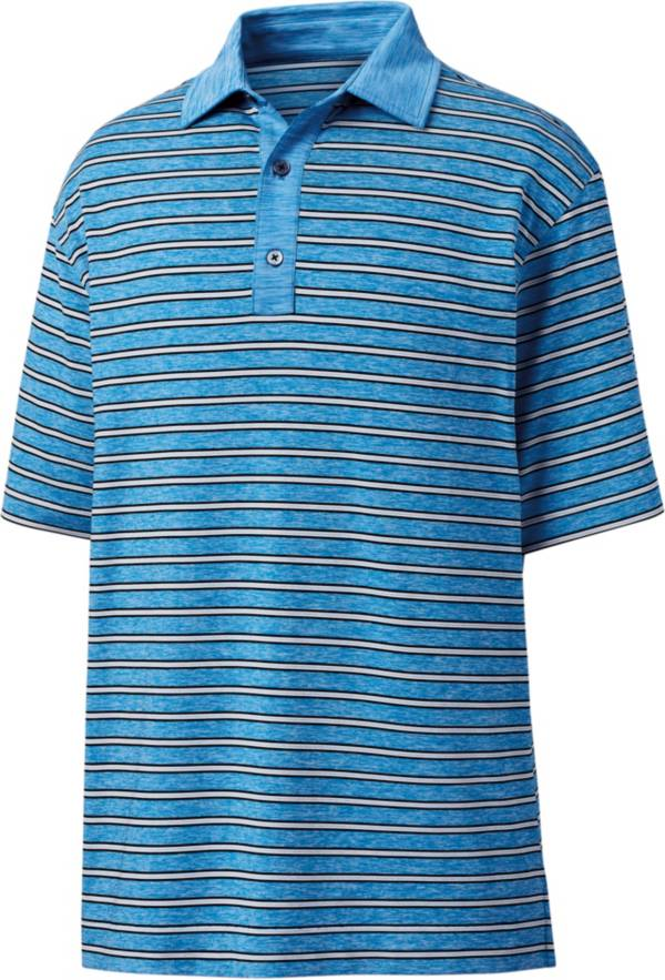 FootJoy Men's Heather Lisle Stripe Golf Polo product image