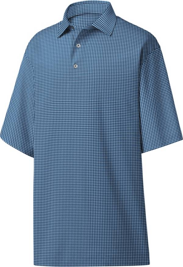 FootJoy Men's Heather Lisle Houndstooth Golf Polo product image