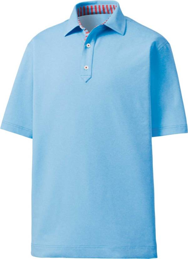 FootJoy Men's Heathered Solid Color Golf Polo product image