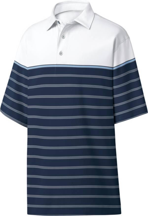 FootJoy Men's Lisle Colorblocked Stripe Golf Polo product image