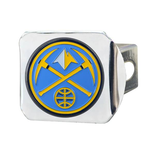 FANMATS Denver Nuggets Chrome Hitch Cover product image