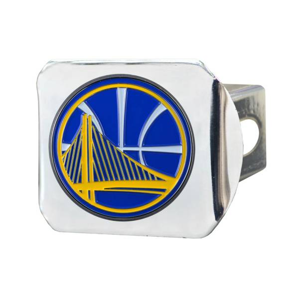 FANMATS Golden State Warriors Chrome Hitch Cover product image