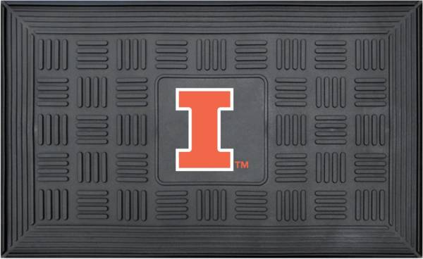 FANMATS Illinois Fighting Illini  Door Mat product image