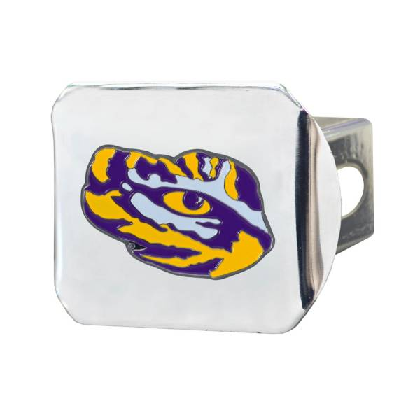 FANMATS LSU Tigers Chrome Hitch Cover product image