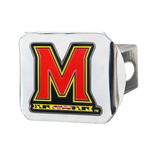 FANMATS Maryland Terrapins Chrome Hitch Cover product image