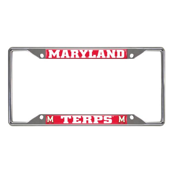 FANMATS Maryland Terrapins License Plate Frame product image