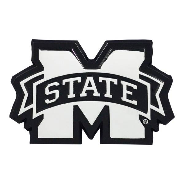 FANMATS Mississippi State Bulldogs Chrome Emblem product image
