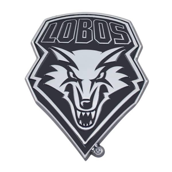 FANMATS New Mexico Lobos Chrome Emblem product image