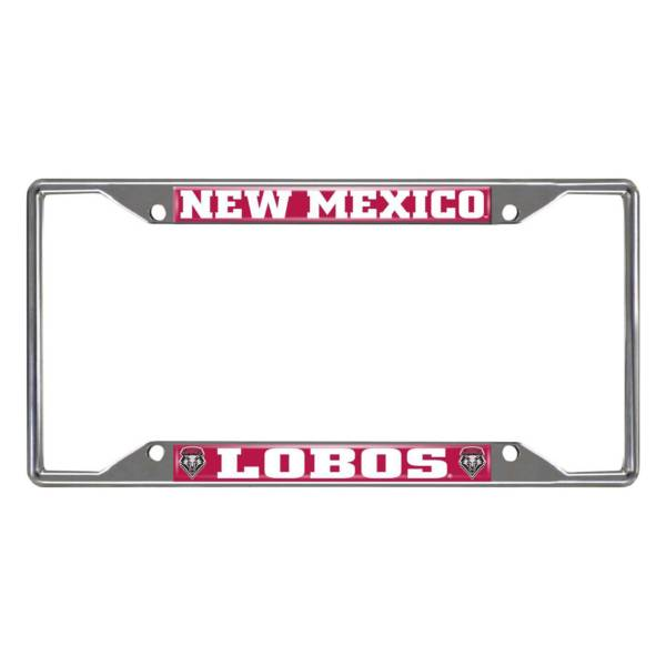 FANMATS New Mexico Lobos License Plate Frame product image