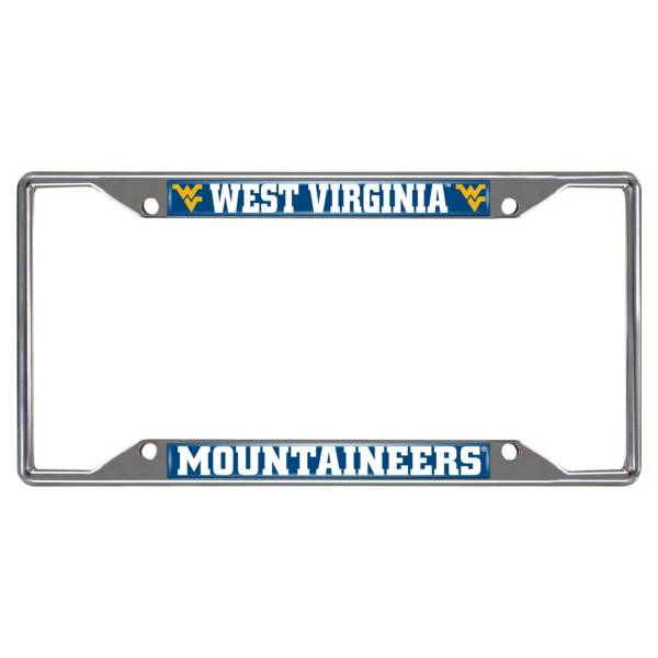 FANMATS West Virginia Mountaineers License Plate Frame product image