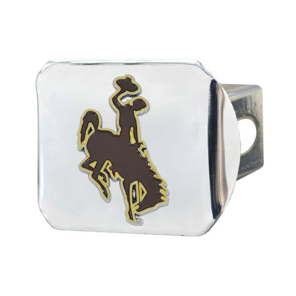 FANMATS Wyoming Cowboys Chrome Hitch Cover product image