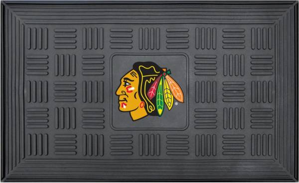FANMATS Chicago Blackhawks Door Mat product image