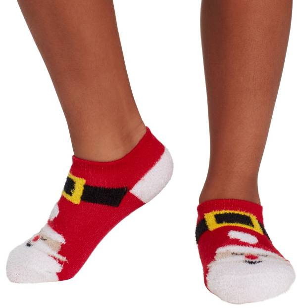Field & Stream Youth Cozy Cabin Santa Low Cut Socks product image