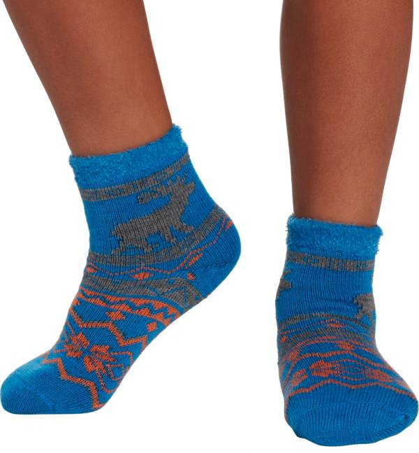 Field & Stream Youth Cozy Cabin Moose Nordic Crew Socks product image