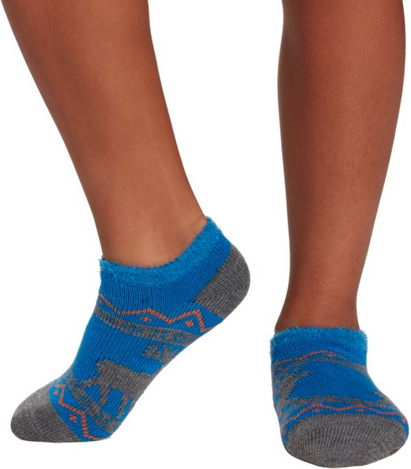 Field & Stream Youth Cozy Cabin Moose Ankle Socks product image