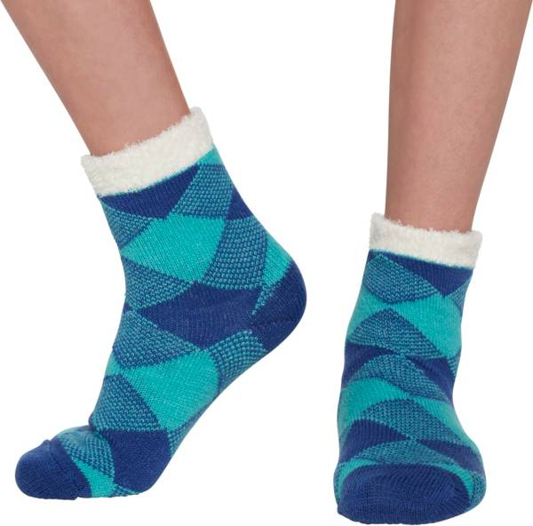 Field & Stream Youth Cozy Cabin Buff Check Crew Socks product image