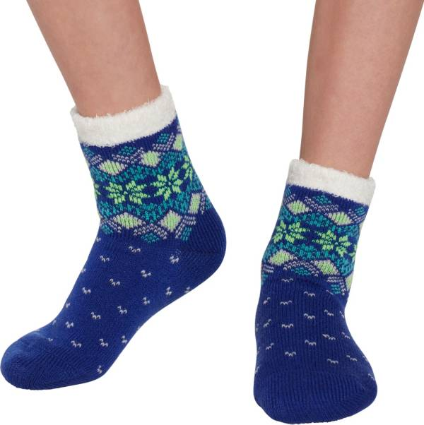 Field & Stream Youth Cozy Cabin Snowflake Dot Crew Socks product image
