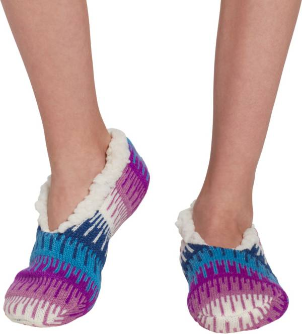 Field & Stream Girls' Cozy Cabin Icicle Slipper Socks product image