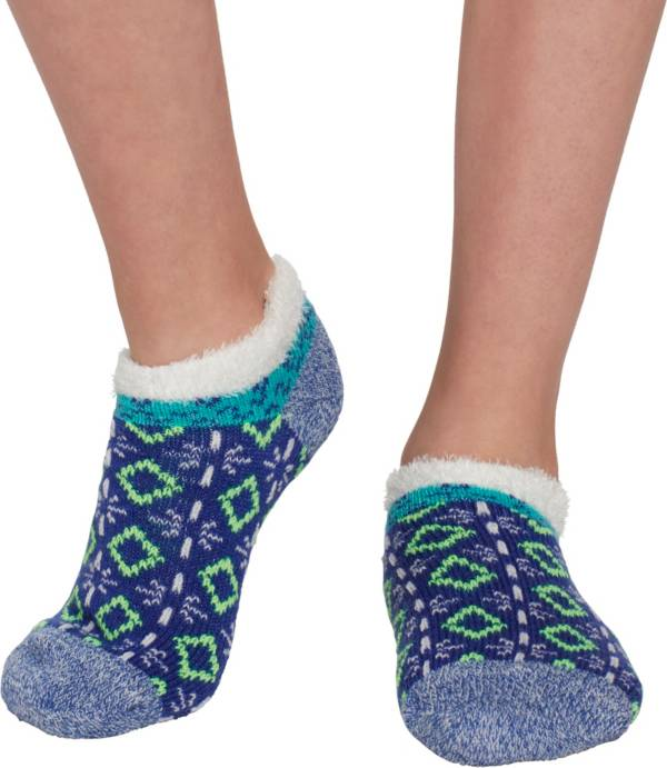 Field & Stream Girls' Cozy Cabin Tribal Block Ankle Socks product image