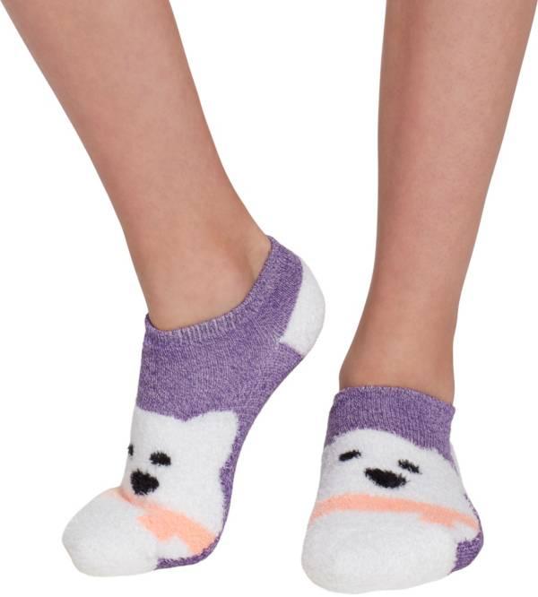 Field & Stream Girls' Cozy Cabin Bear Low Cut Socks product image