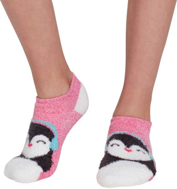 Field & Stream Girls' Cozy Cabin Penguin Low Cut Socks product image