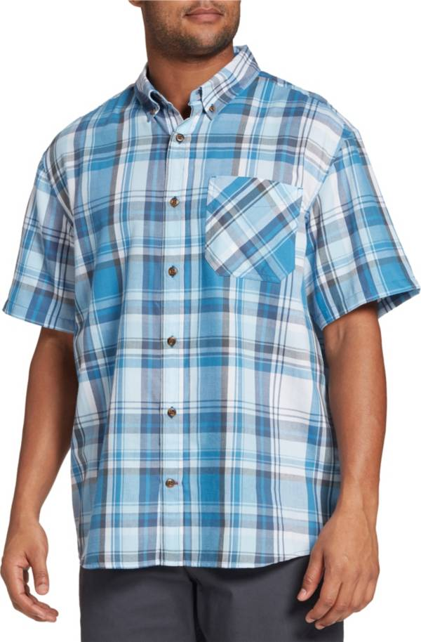 Field & Stream Men's Classic Plaid Button Up Collared T-Shirt product image