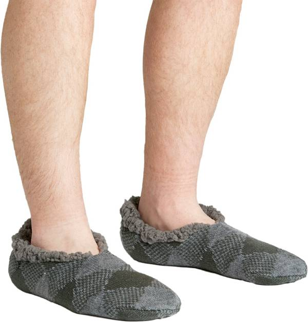 Field & Stream Men's Cozy Cabin Buff Check Slipper Socks product image