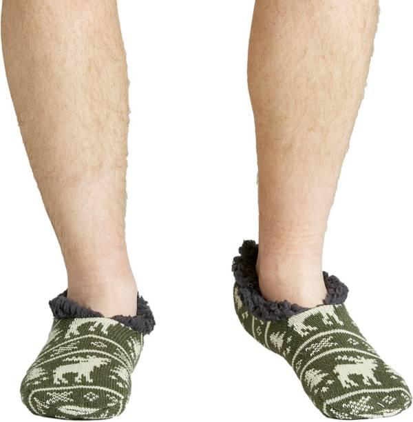 Field & Stream Men's Cozy Cabin Moose Slipper Socks product image