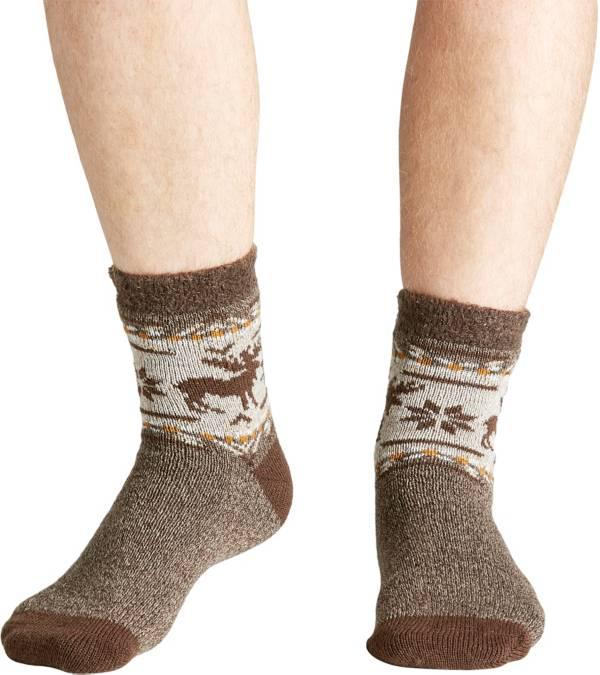 Field & Stream Men's Cozy Cabin Aztec Moose Socks product image