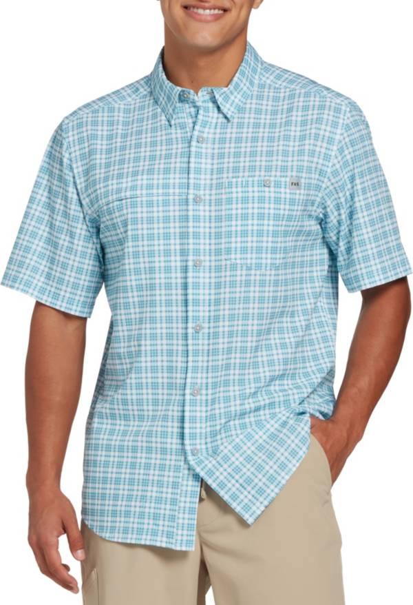 Field & Stream Men's Deep Runner Stretch Plaid Button Up Shirt product image