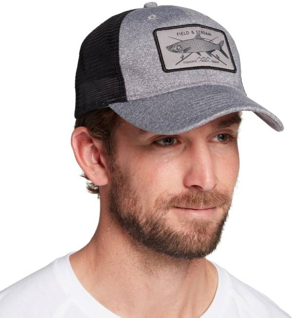 Field & Stream Men's Heather Rectangle Patch Hat product image