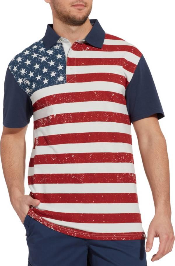 Field & Stream Men's Americana Flag Polo Shirt product image