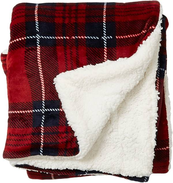 Field & Stream Cozy Plaid Sherpa Blanket product image