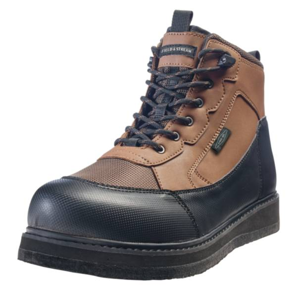 Field & Stream Men's Angler Felt Sole Wading Boots product image
