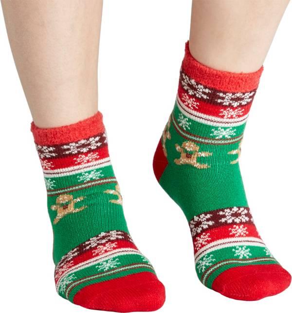 Field & Stream Women's Cozy Cabin Gingerbread Man Socks product image