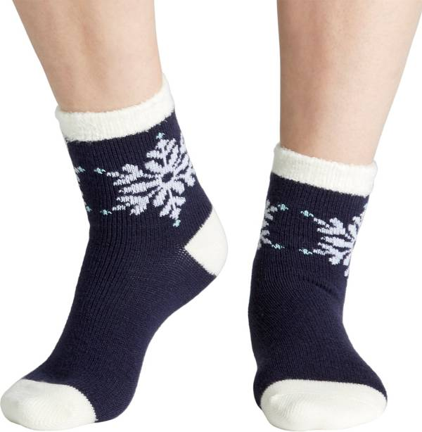 Field & Stream Women's Cozy Cabin Placed Snowflake Socks product image