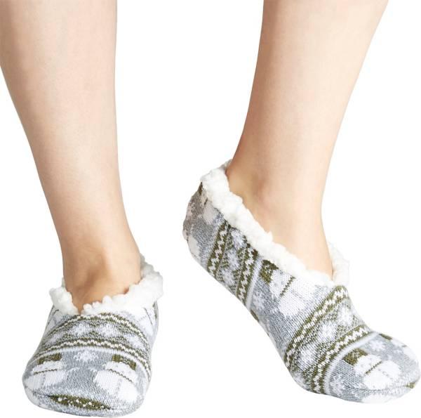 Field & Stream Women's Cozy Cabin Snowman Nordic Slipper Socks product image