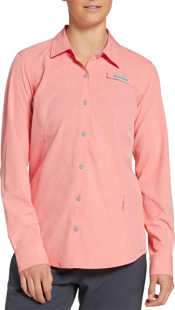 Field & Stream Women's Deep Runner Stretch Button Down Long Sleeve Fishing Shirt product image