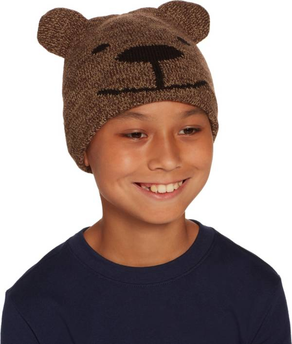 Field & Stream Youth Cabin Bear Ear Beanie product image