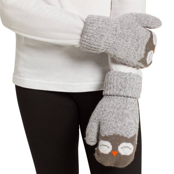 Field & Stream Youth Cabin Acc Owl Mittens product image