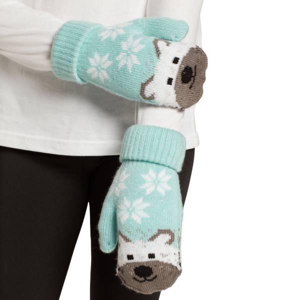Field & Stream Girls' Cabin Polar Bear Mittens product image